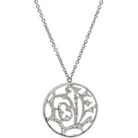 Cathy Waterman Love Pendant Necklace