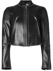 Givenchy Studded Cropped Jacket Black
