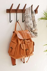 Urban Outfitters Mid Century Modern Wall Hook Brown