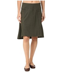 Royal Robbins Herringbone Discovery Strider Skirt Dark Olive Women's Skirt