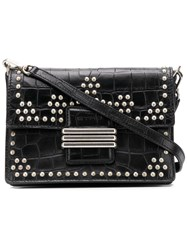 Etro Studded Crossbody Bag Black