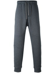 Fendi Loose Fit Cuffed Joggers Grey