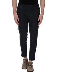 Hosio Casual Pants Dark Blue