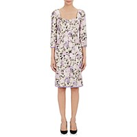 Philosophy Di Alberta Ferretti Women's Grosgrain Trimmed Abstract Jacquard Dress Size 0 Us No Color