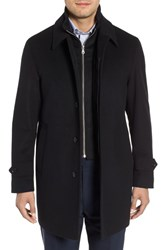 Sanyo Merlet Wool Raincoat Black