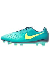 Nike Performance Magista Opus Ii Fg Football Boots Rio Teal Volt Obsidian Clear Jade Hyper Turquoise Mint