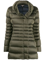 Colmar Logo Down Jacket Green