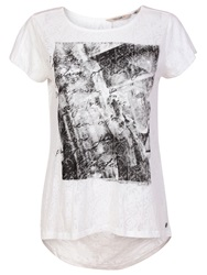 Garcia Women Printed Top Off White