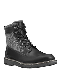Timberland Britton Hill Tweed Boots Black