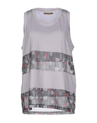 Amaranto Topwear Vests Women Light Grey