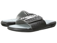 Speedo Exsqueeze Me Rip Slide Black High Rise Women's Slide Shoes