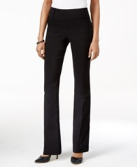Styleandco. Style Co. Pull On Boot Leg Pants Only At Macy's Deep Black