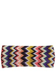Missoni Printed Viscose Knit Headband Multicolor