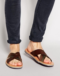 Paul Smith Jeans Kohoutek Sandals Brown