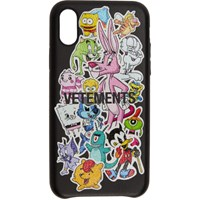 Vetements Black Monsters Iphone Xs Max Case