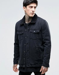 Dr. Denim Dr Ior Borg Jacket Black
