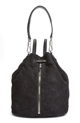 Elizabeth And James 'Cynnie' Perforated Sling Backpack