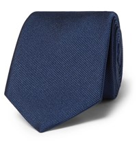 Dolce And Gabbana 6Cm Silk Twill Tie Blue