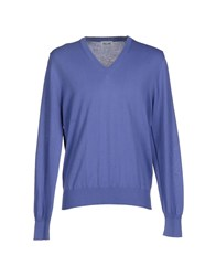 Magliaro Knitwear Jumpers Men Purple