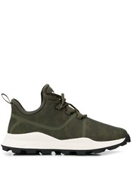 Timberland Lace Up Sneakers Green