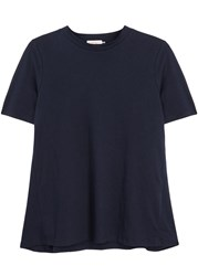 Demy Lee Franny Navy Cotton T Shirt