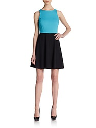 4.Collective Seamed Ponte Fit And Flare Dress