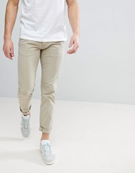 Lindbergh Chinos In Beige Cold Sand Stone