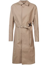 Alyx Belted Waist Trench Coat Nude And Neutrals