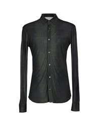 Roberto Cavalli Shirts Dark Green