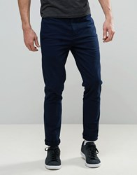 Religion Skinny Fit Chino With Stretch Air Force Navy