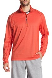 Tommy Bahama Double Eagle Half Zip Pullover Orange