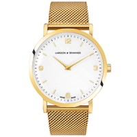 Larsson And Jennings Lugano 38Mm Watch White