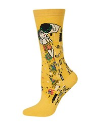 Hot Sox The Kiss Graphic Socks Sunflower