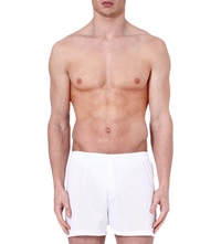 Sunspel Cellular Boxers White
