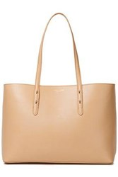 Aspinal Of London Woman Regent Studded Textured Leather Tote Sand