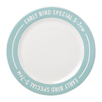 Kate Spade Order's Up Accent Plate Early Bird Special