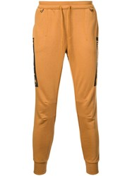 Timberland Skull Print Track Trousers Brown