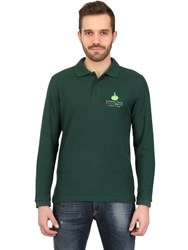 Dynamo Camp Long Sleeved Cotton Pique Polo Shirt
