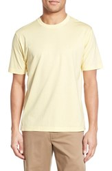Men's Brooks Brothers Supima Cotton Crewneck T Shirt Yellow