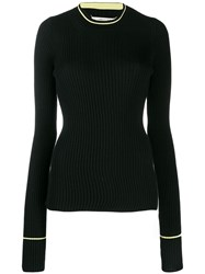 Maison Martin Margiela Glove Sleeve Jumper Black