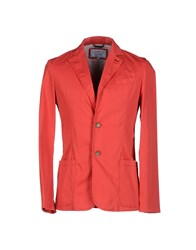 Gianfranco Ferre Gf Ferre' Suits And Jackets Blazers Men Coral