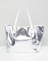 Ban.Do Silver Tote Bag