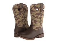 Roper Camo Square Toe Boot Brown Cowboy Boots