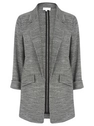 Warehouse Textured Blazer Dark Grey