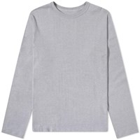 Nanamica Long Sleeve Loopwheel Coolmax Tee Grey