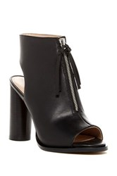 French Connection Uttara Open Toe Bootie Black