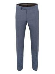 Alexandre Of England Southwark Panama Tailored Fit Trouser Airforce Blue