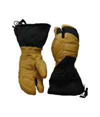 Black Diamond Guide Finger Glove Natural Extreme Cold Weather Gloves Beige