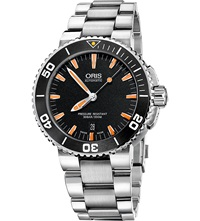 Oris 74376734159Mb Aquis Stainless Steel Diving Watch