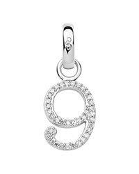 Links Of London Number 9 Charm Silver